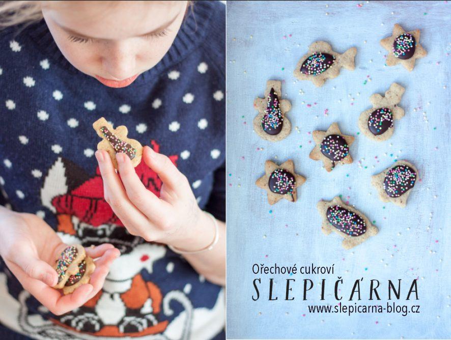 Recept na vánoční ořechové cukroví