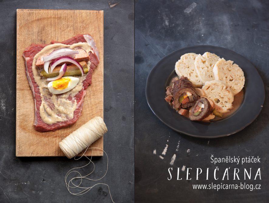 Česká kuchyně: Španělský ptáček s knedlíky