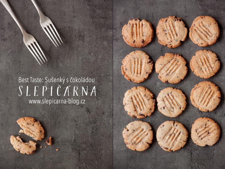 Recept na ty nejlepší sušenky s čokoládou