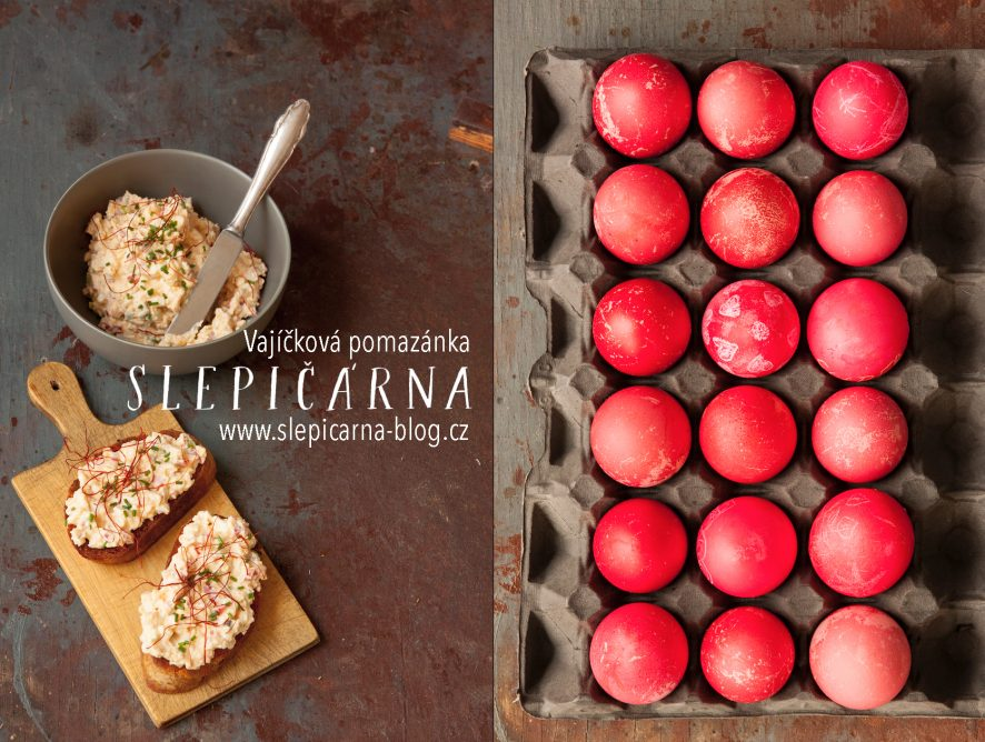 Velikonoční pondělí: Pikantní vajíčková pomazánka