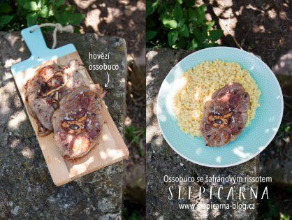 Italská kuchyně: Ossobuco se šafránovým rissotem
