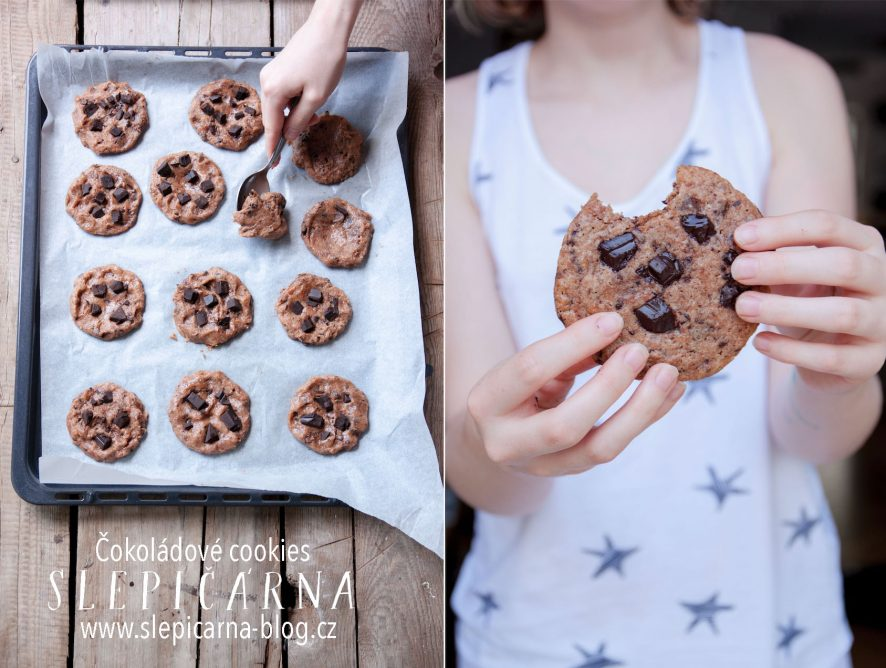 Jak na čokoládové cookies bez vážení
