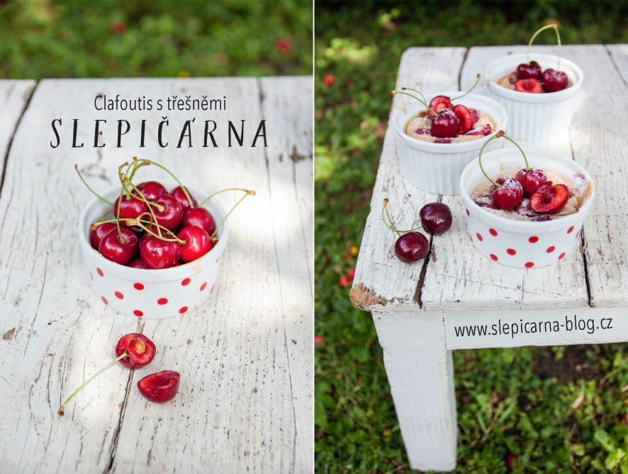 Francouzská kuchyně: Hrnkový clafoutis s třešněmi