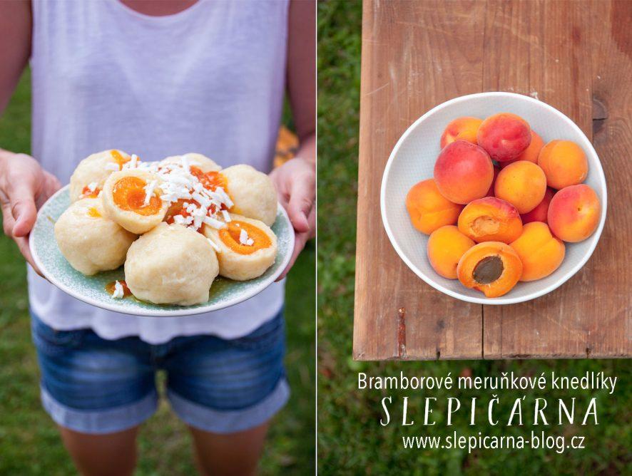 Recept na prázdninové meruňkové knedlíky