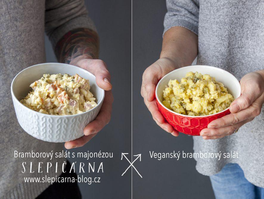 Manželský challenge: Vánoční bramborový salát