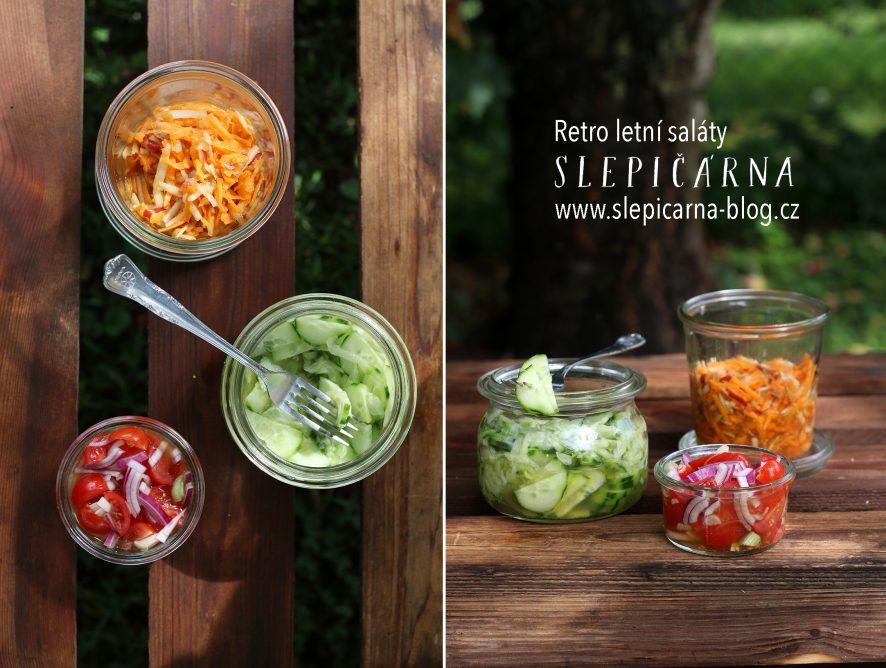 Retro letní saláty jako vzpomínka na dětství