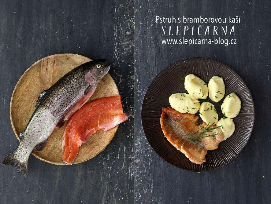 Ze sádek až na talíř: Pstruh s bramborovou kaší