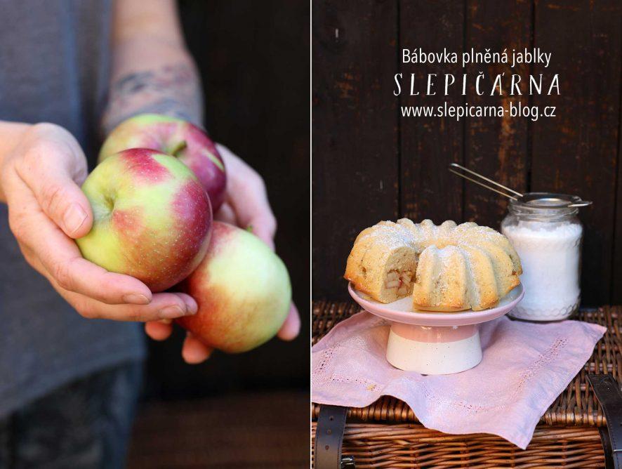 Bábovka plněná jablky se skořicí
