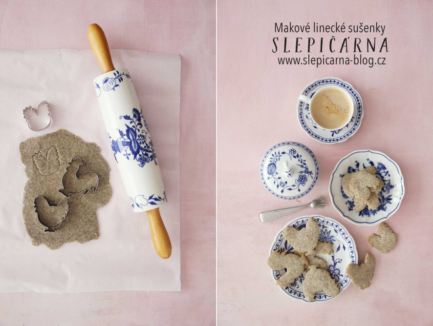 Linecké sušenky v létě? Ano, makové!