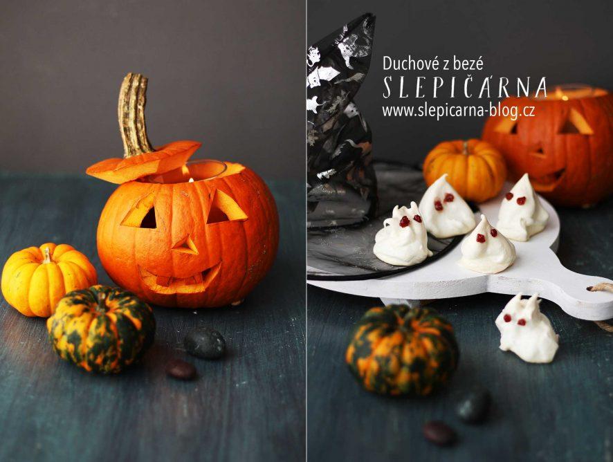 Co na Halloween? Upečte duchy z bezé!