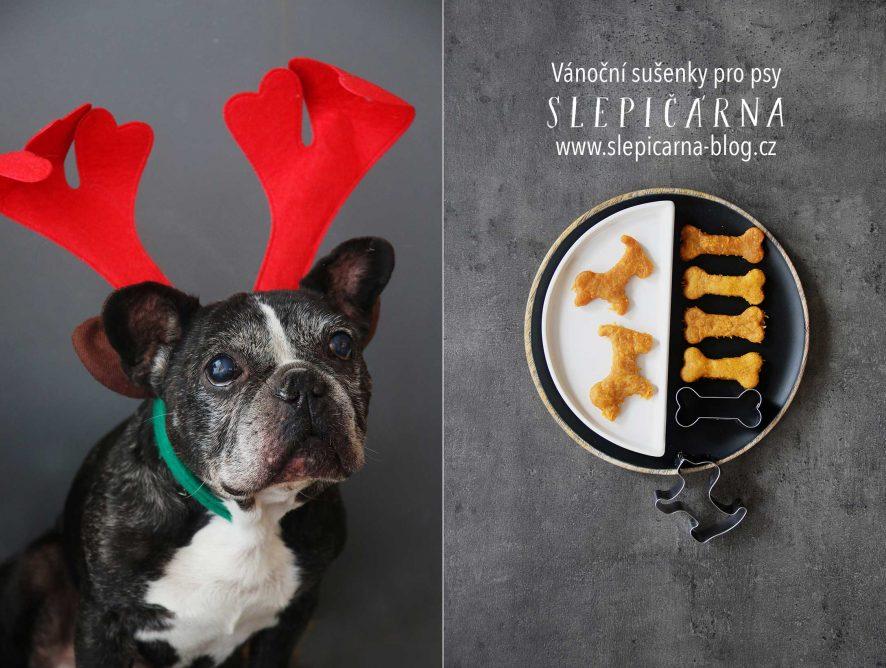 Jednoduchý recept na vánoční sušenky pro psy
