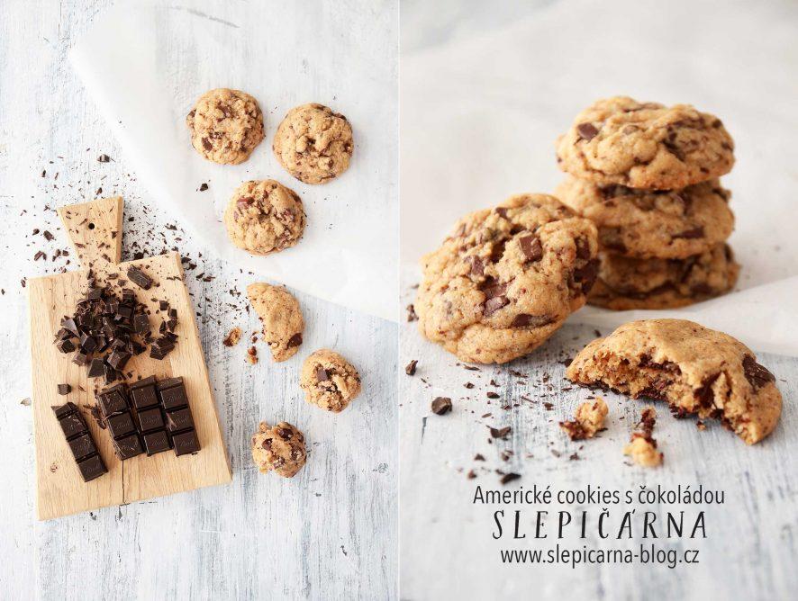 Recept na americké cookies s čokoládou