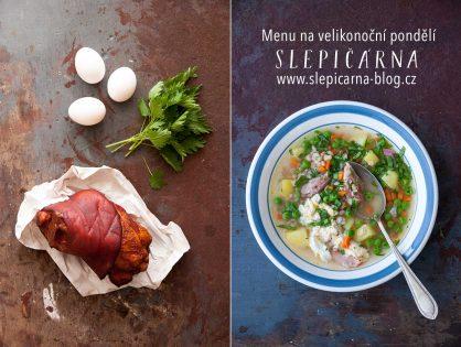 3 recepty na velikonoční pondělí: polévka, nádivka a pomazánka z vajec