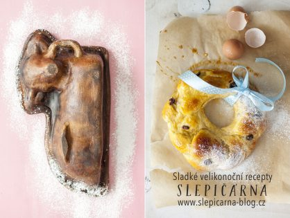 Jak na sladké Velikonoce: beránek, věnec nebo mini mazance?