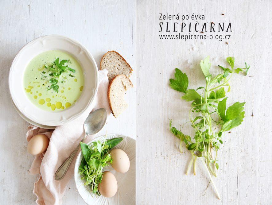Rychlá zelená polévka na Zelený čtvrtek