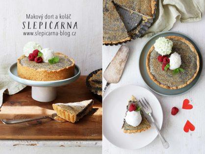 Makový dort a koláč (nejen) ke Dni matek