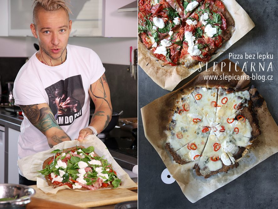 Pizza bez lepku podle Jakuba Bíny