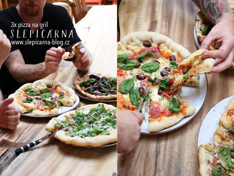 3x pizza na gril aneb Už víme, jak na to!