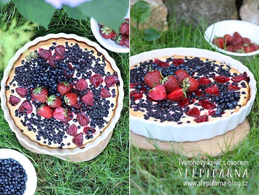 Na prázdniny s tvarohovým koláčem a letním ovocem