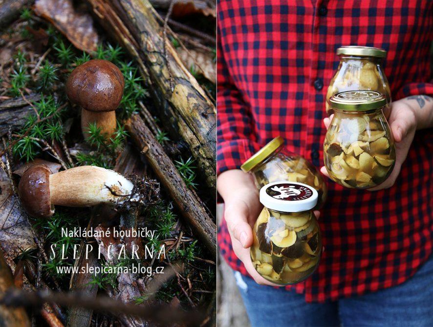 Recept na nakládané houbičky nakyselo