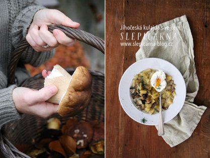 Jak na tradiční polévku, jihočeskou kulajdu