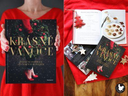 Knížka Krásné Vánoce: adventní manuál nejen na cukroví od blogerek