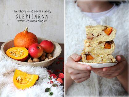 Proč si upéct tvarohový koláč s dýní a jablky? Známe 5 i více důvodů