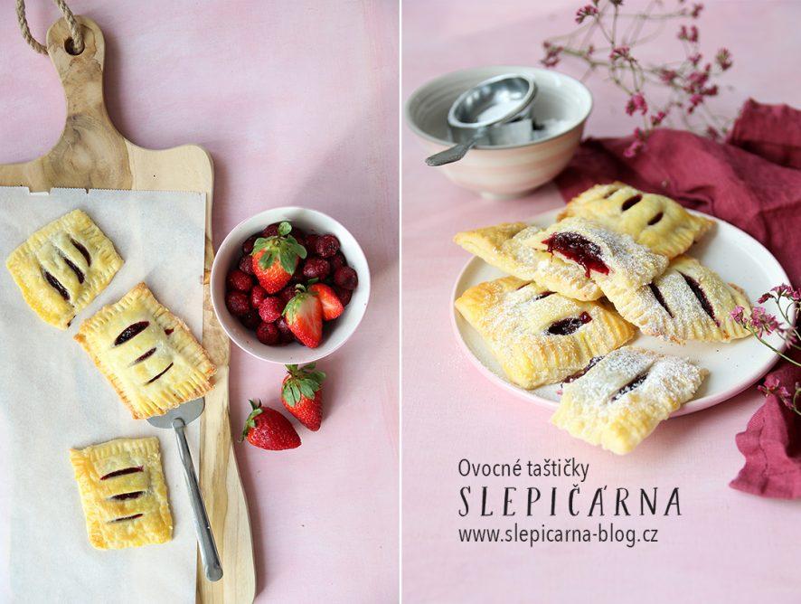 Nejjednodušší recept na jarní plněné taštičky třešněmi a jahodami