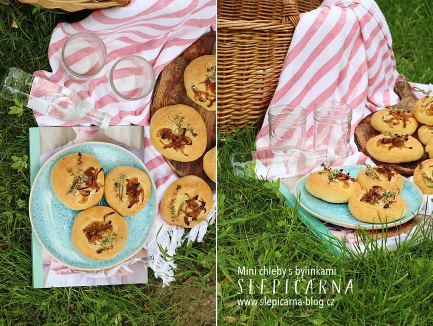 Netradiční pikantní mini chleby na piknik