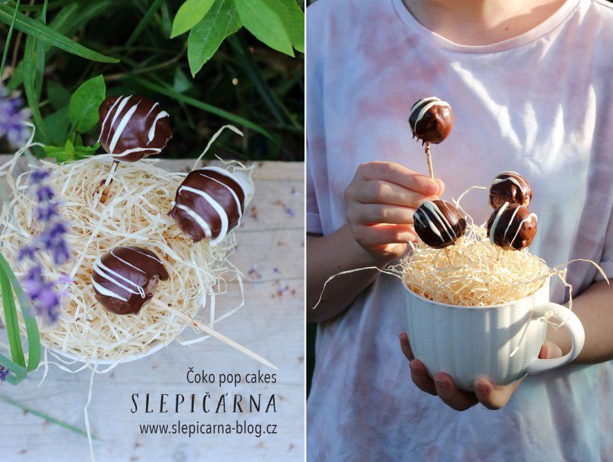 Znáte sušenková lízátka zvaná POP CAKES? Zkuste tyto čokoládové!