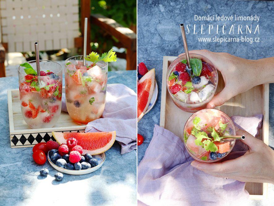 Osvěžující domácí letní ledové limonády