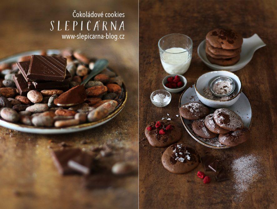 Opravdu čokoládové sušenky ve stylu cookies