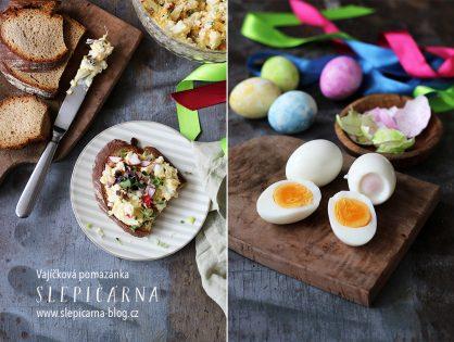 Tradiční velikonoční vajíčková pomazánka