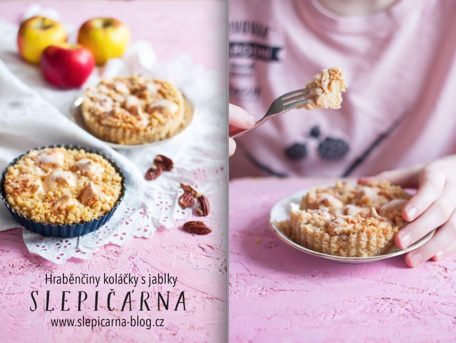 Sladká zima ve znamení hraběnčiných koláčků s jablky, ořechy a bílkovými pusinkami