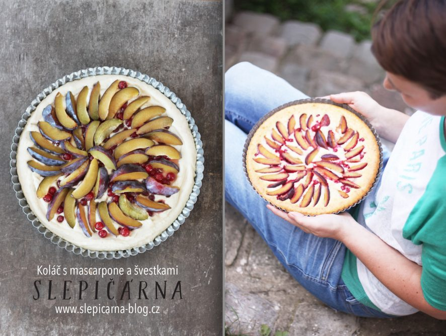 Napečeno s příběhem: Neuvěřitelně dobrý koláč s mascarpone a ovocem ze zahrady