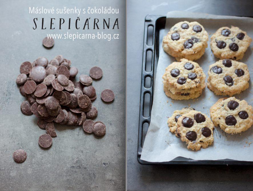 Pečte s dětmi: Jak na jednoduché máslové sušenky s čokoládovými čočkami