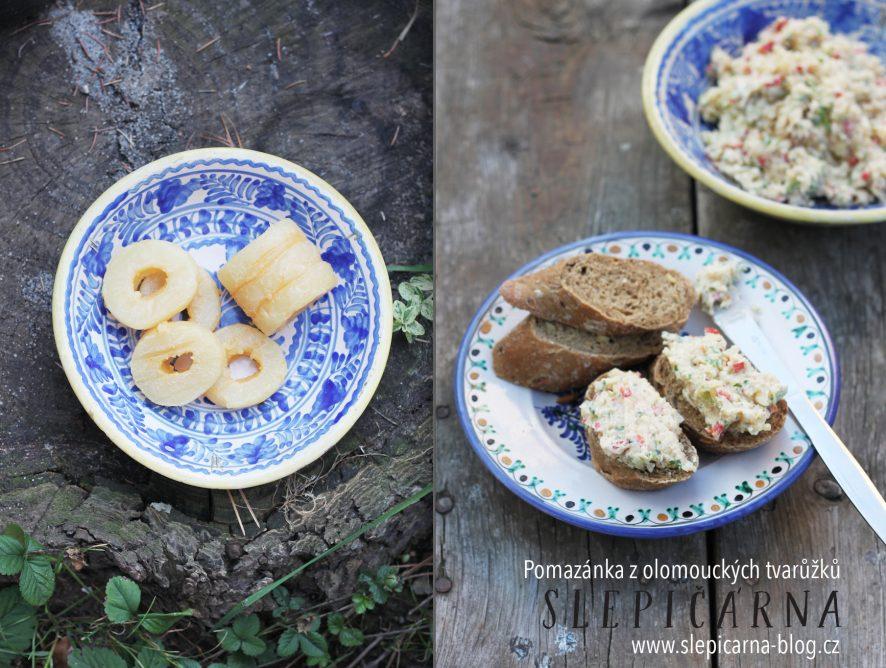 Rychlovky nejen k večeři: Pomazánka z olomouckých syrečků udělá radost i dietářkám
