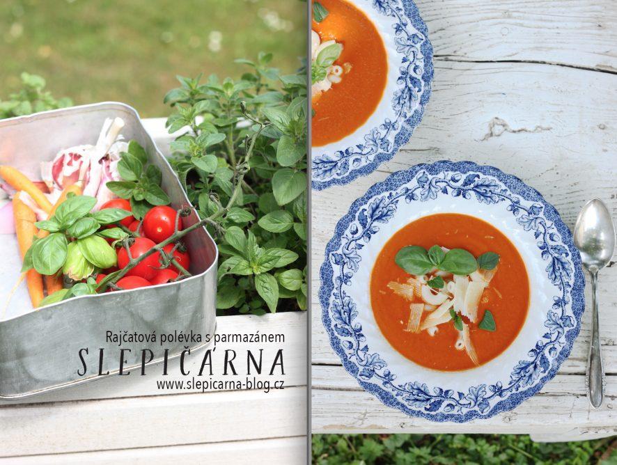 Rychlá rajčatová polévka pro moje děti