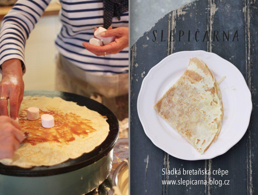 Sladká bretaňská specialita - crêpe