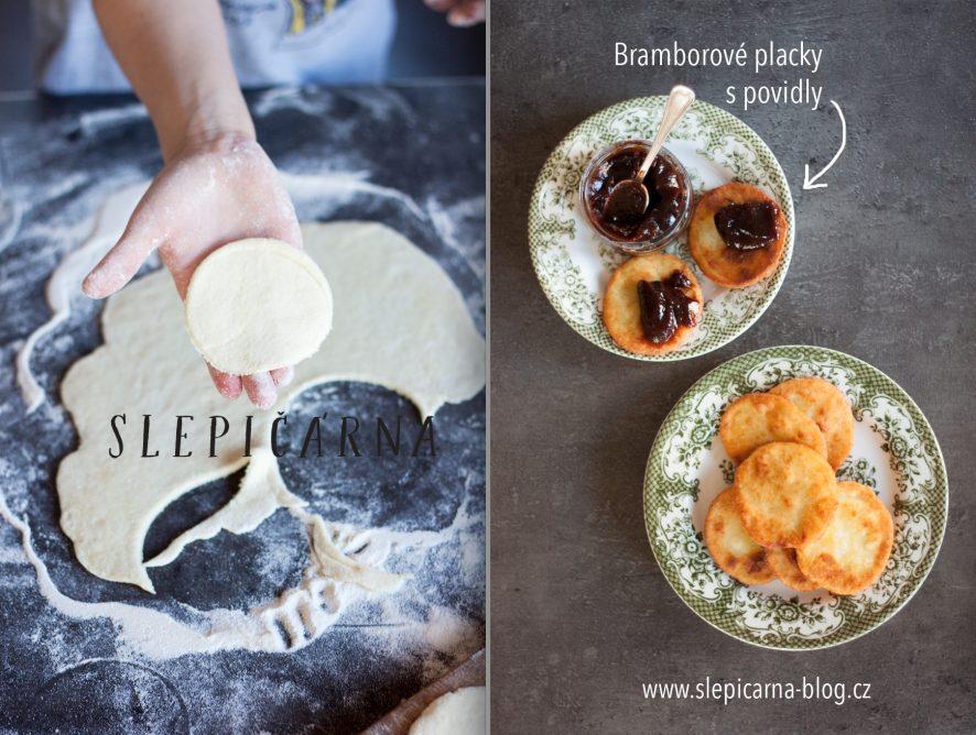 S dětmi v kuchyni: Domácí bramborové placky s povidly jako rychlá večeře
