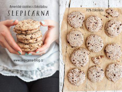 Americké cookies: Máslové sušenky s čokoládou
